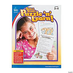 Carson-Dellosa™ Bible Story Puzzle 'n' Learn Book - Grades 3-4