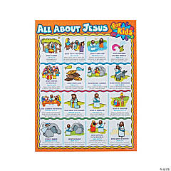 Carson-Dellosa<sup>&#174;</sup> All About Jesus For Kids Chart