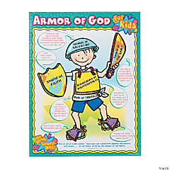 Carson-Dellosa<sup>&#174;</sup> Armor of God For Kids Chart