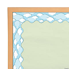 Carson-Dellosa<sup>&#174; </sup>Clouds Scalloped Bulletin Board Borders