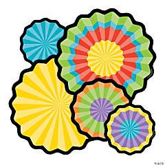 Carson-Dellosa<sup>&#174;</sup> Colorful Fans Bulletin Board Cutouts