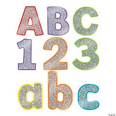 Carson-Dellosa<sup>&#174;</sup> Colorful Glitter Bulletin Board Letters