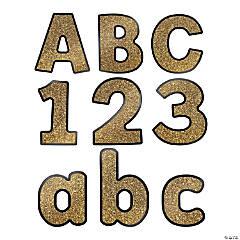 Carson-Dellosa<sup>&#174;</sup> Gold Glitter Bulletin Board Letters