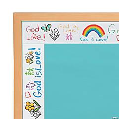 Carson-Dellosa<sup>&#174;</sup> Kid-Drawn God Is Love Bulletin Board Border