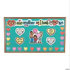 Carson-Dellosa<sup>&#174;</sup> Kid-Drawn Jesus Loves Me Mini Bulletin Board Set