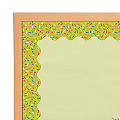 Carson-Dellosa<sup>&#174;</sup> Lime Green with Sprinkles Scalloped Bulletin Board Borders