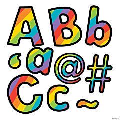 Carson-Dellosa<sup>&#174;</sup> Rainbow Stripe Bulletin Board Letters