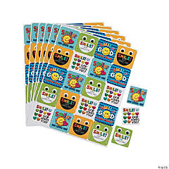 Carson-Dellosa<sup>&#174;</sup> Smile God Loves You Sticker Sheets