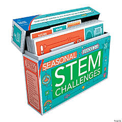 Carson-Dellosa<sup>&#174;</sup> STEM Seasonal Challenges Learning Cards Grades 2-5