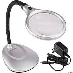 Carson Deskbrite 200 Illuminated Magnifier & Desk Lamp