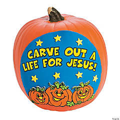 Carve Out a Life for Jesus Pumpkin Decorating Craft Kit