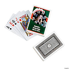 Casino Custom Photo Playing Cards