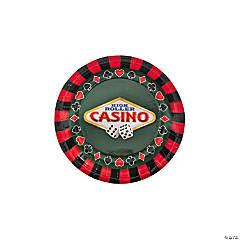 Casino Paper Dessert Plates