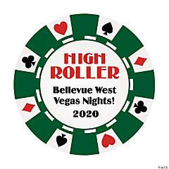 Casino Personalized Stickers
