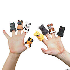 Cat & Dog Finger Puppets