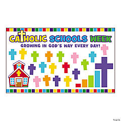 Catholic Schools Week Mini Bulletin Board Set