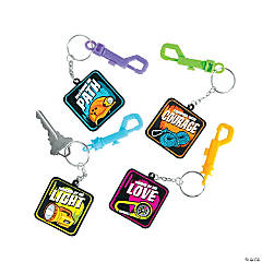 Cave Adventure Backpack Clip Key Chains