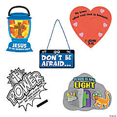 Cave Adventure Bible Verse-a-Day Craft Kit Assortment