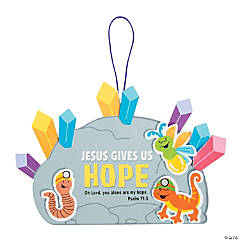 Cave Adventure Bible Verse Sign Craft Kit