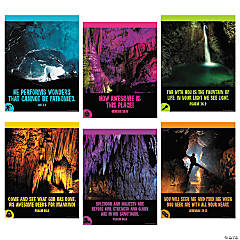 Cave Adventure Inspirational Poster Set