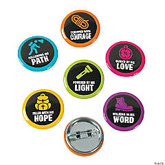 Cave Adventure Mini Buttons