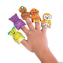 Cave Adventure Puffy Finger Puppets