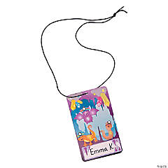 Cave Adventure Sticker-a-Day Name Tag Craft Kit