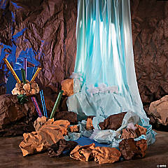 Cave Adventure Table Roll Waterfall Prop Idea