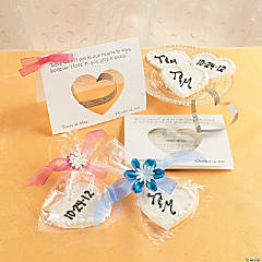 Cellophane Bag with Flower and Cookie Idea