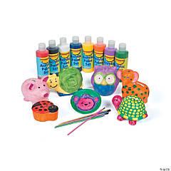 Ceramic Animals Craft Pack