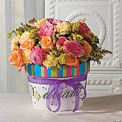 Ceramic Flowerpot Idea