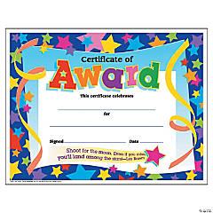 Certificate of Award - 30 per pack, 6 packs