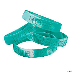 Cervical Cancer Awareness Bracelets