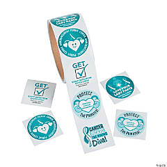 Cervical Cancer Awareness Stickers
