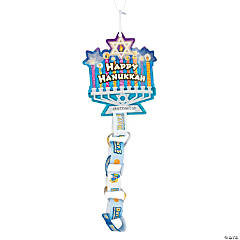 Chain Hanukkah Countdown Craft Kit