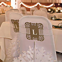 Chair Cover Décor Idea