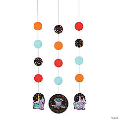 Chalk Birthday Hanging Cutouts