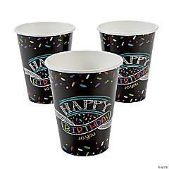 Chalk Birthday Paper Cups