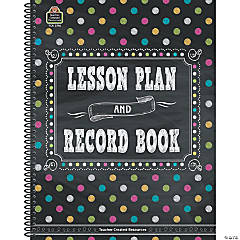 Chalkboard Brights Lesson Plan and Record Book, Pack of 2 books