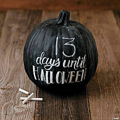 Chalkboard Pumpkin Idea