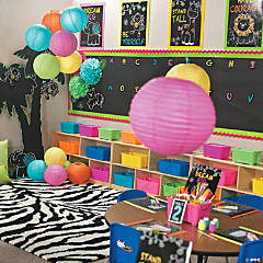 Chalkboard Safari Animal Classroom Theme
