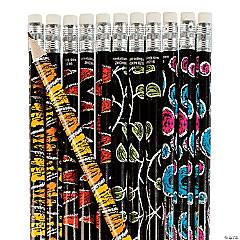 Chalkboard Safari Animal Pencils