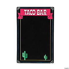 Chalkboard Taco Bar Sign Wall Decoration