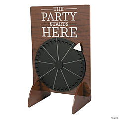 Chalkboard Wedding Spinner Game