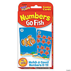 Challenge Cards® Numbers Go Fish Game - 56 cards per pack, 12 packs