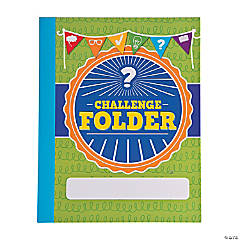 Challenge Pocket Folders
