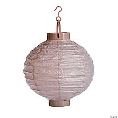 Champagne Light-Up Hanging Paper Lanterns