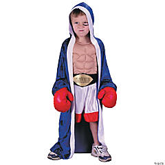 Champion Boxer Toddler's Costume