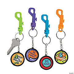 Character Backpack Clip Key Chains