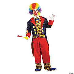 Checkers the Clown Costume for Adults